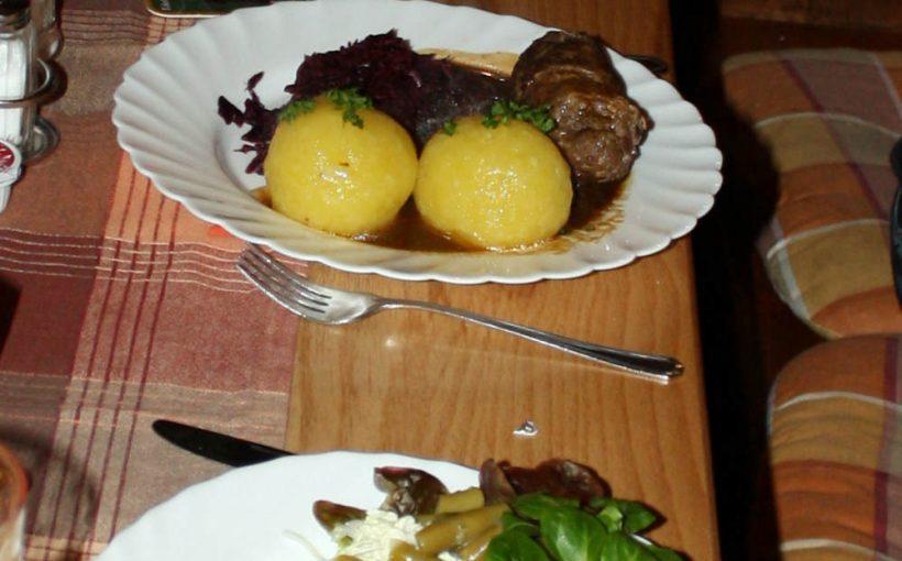 Essen im Waldhotel Schmücke