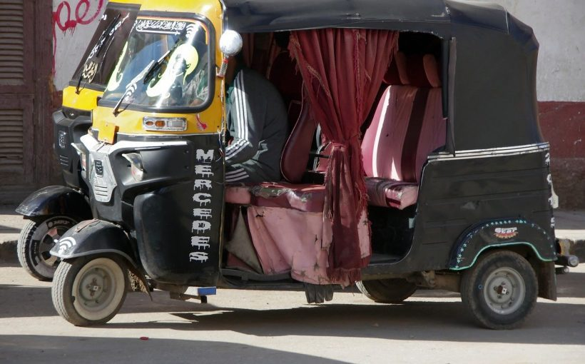 Taxi Fahrt Ägypten