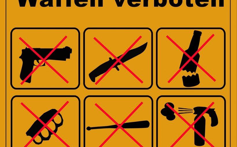 verbotene Gegenstände