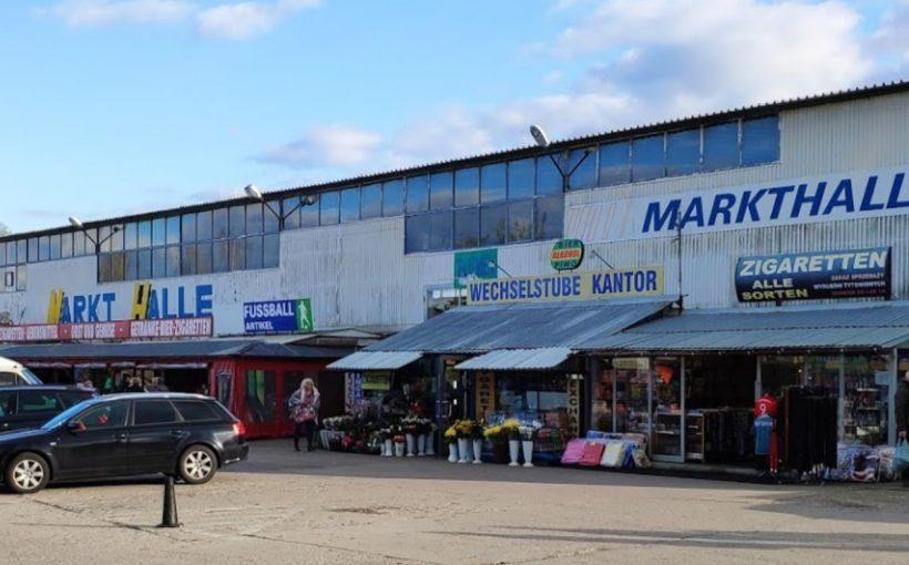 Polenmarkt Kolbitzow bei Stettin